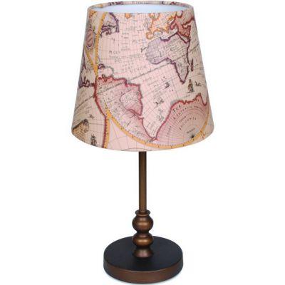 Светильник настольный Favourite 1122-1tМорской стиль<br>Настольная лампа – это не просто источник дополнительного освещения, но и оригинальный элемент декора. Его можно установить в спальне, гостиной, кабинете и других комнатах. Интернет-магазин «Светодом» предлагает настольные лампы разных стилей по доступным ценам. Благодаря большому ассортименту Вы обязательно найдете в нашем каталоге именно ту модель, которую искали.   Настольная лампа Favourite 1122-1T – прекрасный вариант для завершения интерьера. Ее можно включить одновременно с люстрой для более яркого освещения или без нее для создания уютной атмосферы, настраивающей на отдых.   Купить настольную лампу Favourite 1122-1T Вы можете с помощью виртуальной «Корзины» или по контактным номерам, указанным на сайте.<br><br>S освещ. до, м2: 4<br>Тип лампы: накаливания / энергосбережения / LED-светодиодная<br>Тип цоколя: E27<br>Количество ламп: 1<br>MAX мощность ламп, Вт: 60<br>Диаметр, мм мм: 260<br>Размеры: D260*H500<br>Высота, мм: 500<br>Цвет арматуры: бежевый