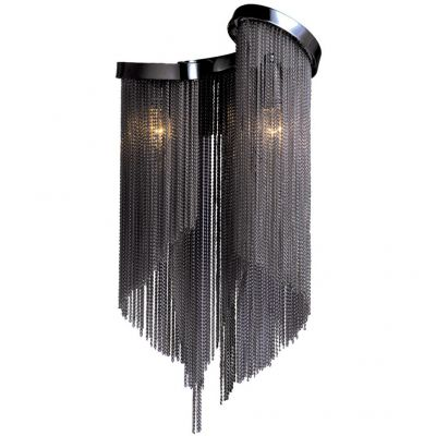 Светильник бра Favourite 1157-2wХай-тек<br><br><br>S освещ. до, м2: 3<br>Тип лампы: накаливания / энергосбережения / LED-светодиодная<br>Тип цоколя: E14<br>Количество ламп: 2<br>Ширина, мм: 220<br>MAX мощность ламп, Вт: 25<br>Диаметр, мм мм: 150<br>Размеры: W220*H440*D150<br>Высота, мм: 440<br>Цвет арматуры: черный