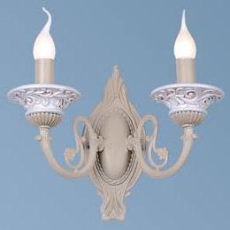 Светильник бра Favourite 1202-2w под керамикуРустика<br><br><br>S освещ. до, м2: 6<br>Тип лампы: накаливания / энергосбережения / LED-светодиодная<br>Тип цоколя: E14<br>Количество ламп: 2<br>Ширина, мм: 341<br>MAX мощность ламп, Вт: 60<br>Диаметр, мм мм: 169<br>Размеры: W341*H268*D169<br>Расстояние от стены, мм: 169<br>Высота, мм: 268<br>Цвет арматуры: белый