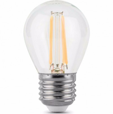 Лампа Gauss LED Filament Globe E27 5W 4100KЛампа e27<br><br>