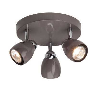 Светильник потолочный Brilliant G29734/22 Milanoтройные споты<br>Светильники-споты – это оригинальные изделия с современным дизайном. Они позволяют не ограничивать свою фантазию при выборе освещения для интерьера. Такие модели обеспечивают достаточно качественный свет. Благодаря компактным размерам Вы можете использовать несколько спотов для одного помещения.  Интернет-магазин «Светодом» предлагает необычный светильник-спот Brilliant G29734/22 по привлекательной цене. Эта модель станет отличным дополнением к люстре, выполненной в том же стиле. Перед оформлением заказа изучите характеристики изделия.  Купить светильник-спот Brilliant G29734/22 в нашем онлайн-магазине Вы можете либо с помощью формы на сайте, либо по указанным выше телефонам. Обратите внимание, что у нас склады не только в Москве и Екатеринбурге, но и других городах России.<br><br>S освещ. до, м2: 8<br>Тип лампы: галогенная/LED<br>Тип цоколя: GU10<br>Цвет арматуры: серебристый<br>Количество ламп: 3<br>Диаметр, мм мм: 210<br>Высота, мм: 110<br>MAX мощность ламп, Вт: 50