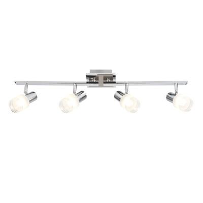 Светильник настенный Brilliant G32432/77 LeaС 4 лампами<br>Светильники-споты – это оригинальные изделия с современным дизайном. Они позволяют не ограничивать свою фантазию при выборе освещения для интерьера. Такие модели обеспечивают достаточно качественный свет. Благодаря компактным размерам Вы можете использовать несколько спотов для одного помещения.  Интернет-магазин «Светодом» предлагает необычный светильник-спот Brilliant G32432/77 по привлекательной цене. Эта модель станет отличным дополнением к люстре, выполненной в том же стиле. Перед оформлением заказа изучите характеристики изделия.  Купить светильник-спот Brilliant G32432/77 в нашем онлайн-магазине Вы можете либо с помощью формы на сайте, либо по указанным выше телефонам. Обратите внимание, что мы предлагаем доставку не только по Москве и Екатеринбургу, но и всем остальным российским городам.<br><br>Тип лампы: накал-я - энергосбер-я<br>Тип цоколя: LED<br>Количество ламп: 4<br>Ширина, мм: 120<br>MAX мощность ламп, Вт: 3<br>Длина, мм: 710<br>Высота, мм: 170<br>Цвет арматуры: серебристый