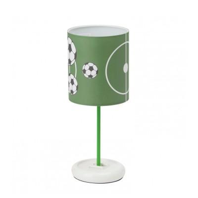 Лампа настольная Brilliant G56248/74 SoccerДля детской<br><br><br>Тип товара: Настольная лампа<br>Тип лампы: накал-я - энергосбер-я<br>Тип цоколя: LED<br>Количество ламп: 1<br>MAX мощность ламп, Вт: 72<br>Диаметр, мм мм: 130<br>Высота, мм: 325<br>Цвет арматуры: разноцветный