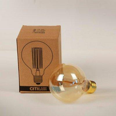 Citilux G80-19FL лампа освещенияРетро лампы<br>В интернет-магазине «Светодом» можно купить не только люстры и светильники, но и лампочки. В нашем каталоге представлены светодиодные, галогенные, энергосберегающие модели и лампы накаливания. В ассортименте имеются изделия разной мощности, поэтому у нас Вы сможете приобрести все необходимое для освещения.   Лампа Citilux G80-19FL обеспечит отличное качество освещения. При покупке ознакомьтесь с параметрами в разделе «Характеристики», чтобы не ошибиться в выборе. Там же указано, для каких осветительных приборов Вы можете использовать лампу Citilux G80-19FLCitilux G80-19FL.   Для оформления покупки воспользуйтесь «Корзиной». При наличии вопросов Вы можете позвонить нашим менеджерам по одному из контактных номеров. Мы доставляем заказы в Москву, Екатеринбург и другие города России.<br><br>Тип лампы: Накаливания<br>Тип цоколя: E27<br>Количество ламп: 1<br>Диаметр, мм мм: 80<br>Длина, мм: 120<br>MAX мощность ламп, Вт: 40