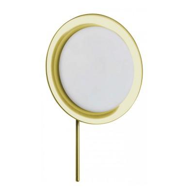 Светильник бра Brilliant G90096B18Бра хай тек стиля<br><br><br>S освещ. до, м2: 2<br>Тип лампы: галогенная / LED-светодиодная<br>Тип цоколя: G9<br>Цвет арматуры: медный<br>Количество ламп: 1<br>Диаметр, мм мм: 195<br>Высота, мм: 300<br>MAX мощность ламп, Вт: 40