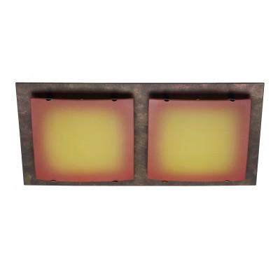 Светильник Brilliant G90377/19 Squareпрямоугольные светильники<br>Настенно-потолочные светильники – это универсальные осветительные варианты, которые подходят для вертикального и горизонтального монтажа. В интернет-магазине «Светодом» Вы можете приобрести подобные модели по выгодной стоимости. В нашем каталоге представлены как бюджетные варианты, так и эксклюзивные изделия от производителей, которые уже давно заслужили доверие дизайнеров и простых покупателей. <br>Настенно-потолочный светильник Brilliant G90377/19 станет прекрасным дополнением к основному освещению. Благодаря качественному исполнению и применению современных технологий при производстве эта модель будет радовать Вас своим привлекательным внешним видом долгое время. <br>Приобрести настенно-потолочный светильник Brilliant G90377/19 можно, находясь в любой точке России. Компания «Светодом» осуществляет доставку заказов не только по Москве и Екатеринбургу, но и в остальные города.<br><br>S освещ. до, м2: 5<br>Тип лампы: галогенная / LED-светодиодная<br>Тип цоколя: G9<br>Цвет арматуры: коричневый<br>Количество ламп: 2<br>Ширина, мм: 360<br>Высота, мм: 190<br>MAX мощность ламп, Вт: 40