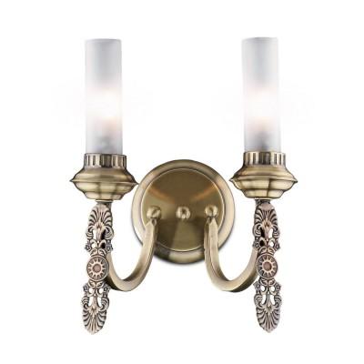 Светильник бра Brilliant G93472/58 Britniклассические бра<br><br><br>S освещ. до, м2: 3<br>Тип лампы: галогенная / LED-светодиодная<br>Тип цоколя: G9<br>Цвет арматуры: бронзовый<br>Количество ламп: 2<br>Ширина, мм: 260<br>Расстояние от стены, мм: 210<br>Высота, мм: 330<br>MAX мощность ламп, Вт: 28