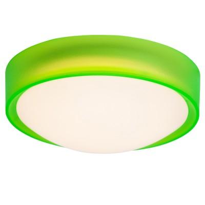 Светильник потолочный Brilliant G94224/74 ToniaКруглые<br>Настенно-потолочные светильники – это универсальные осветительные варианты, которые подходят для вертикального и горизонтального монтажа. В интернет-магазине «Светодом» Вы можете приобрести подобные модели по выгодной стоимости. В нашем каталоге представлены как бюджетные варианты, так и эксклюзивные изделия от производителей, которые уже давно заслужили доверие дизайнеров и простых покупателей.  Настенно-потолочный светильник Brilliant G94224/74 станет прекрасным дополнением к основному освещению. Благодаря качественному исполнению и применению современных технологий при производстве эта модель будет радовать Вас своим привлекательным внешним видом долгое время. Приобрести настенно-потолочный светильник Brilliant G94224/74 можно, находясь в любой точке России. Компания «Светодом» осуществляет доставку заказов не только по Москве и Екатеринбургу, но и в остальные города.<br><br>S освещ. до, м2: 4<br>Цветовая t, К: 3000<br>Тип лампы: LED<br>Тип цоколя: LED<br>Количество ламп: 1<br>MAX мощность ламп, Вт: 10W<br>Диаметр, мм мм: 255<br>Высота, мм: 100<br>Цвет арматуры: зеленый