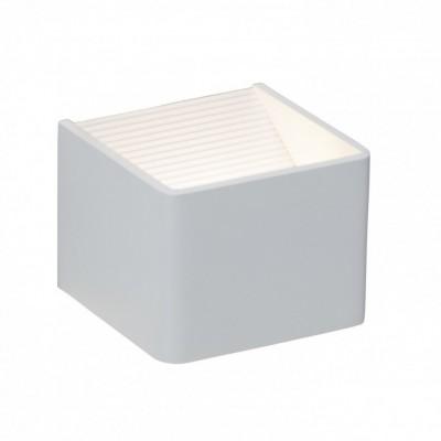 Светильникнастенный Brilliant G94336/05 FREEСовременные<br><br><br>Тип лампы: LED<br>Количество ламп: 1<br>Ширина, мм: 105<br>Расстояние от стены, мм: 100<br>Высота, мм: 80<br>Цвет арматуры: белый