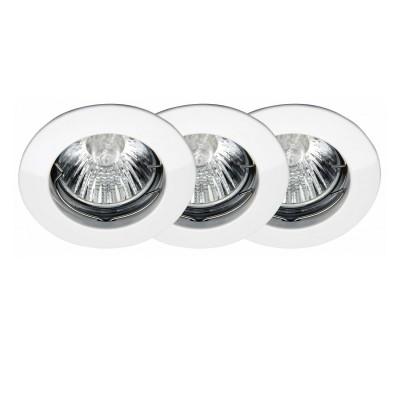 Светильник встраиваемый Brilliant G94508A05Круглые<br>Зачастую мы ищем идеальное освещение для своего дома и уделяем этому достаточно много времени. Так, например, если нам нужен светильник с количеством ламп - 3! То нам, как вариант, подойдет модель - светильник встраиваемый Brilliant G94508A05.<br><br>S освещ. до, м2: 10<br>Тип лампы: галогенная<br>Тип цоколя: GU10<br>Цвет арматуры: белый<br>Количество ламп: 3<br>Диаметр, мм мм: 78<br>MAX мощность ламп, Вт: 50