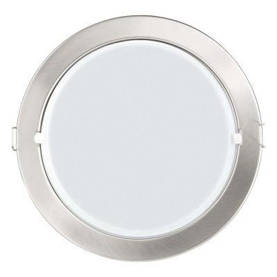 Светильник Brilliant G94599/13 OmegaКруглые<br><br><br>S освещ. до, м2: 2<br>Тип товара: Светильник встраиваемый<br>Тип лампы: накаливания / энергосбережения / LED-светодиодная<br>Тип цоколя: E27<br>Количество ламп: 2<br>MAX мощность ламп, Вт: 22<br>Диаметр, мм мм: 230<br>Диаметр врезного отверстия, мм: d200<br>Высота, мм: 115<br>Цвет арматуры: серебристый