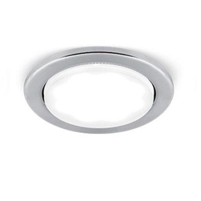 Светильник Gauss Tablet GX005 Хром, GX53Энергосберегающие<br>Встраиваемые светильники – популярное осветительное оборудование, которое можно использовать в качестве основного источника или в дополнение к люстре. Они позволяют создать нужную атмосферу атмосферу и привнести в интерьер уют и комфорт.   Интернет-магазин «Светодом» предлагает стильный встраиваемый светильник Gauss Tablet GX005. Данная модель достаточно универсальна, поэтому подойдет практически под любой интерьер. Перед покупкой не забудьте ознакомиться с техническими параметрами, чтобы узнать тип цоколя, площадь освещения и другие важные характеристики.   Приобрести встраиваемый светильник Gauss Tablet GX005 в нашем онлайн-магазине Вы можете либо с помощью «Корзины», либо по контактным номерам. Мы развозим заказы по Москве, Екатеринбургу и остальным российским городам.<br><br>S освещ. до, м2: 1<br>Тип лампы: LED<br>Тип цоколя: GX53<br>Количество ламп: 1<br>MAX мощность ламп, Вт: 25<br>Диаметр, мм мм: 102<br>Диаметр врезного отверстия, мм: 80<br>Высота, мм: 32<br>Цвет арматуры: серебристый хром