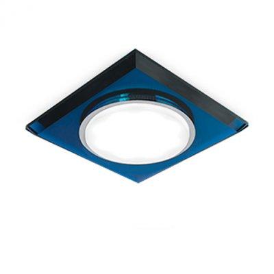 Светильник Gauss Tablet GX206 Квадрат. Кристал/Синий, GX53Квадратные встраиваемые светильники<br>Встраиваемые светильники – популярное осветительное оборудование, которое можно использовать в качестве основного источника или в дополнение к люстре. Они позволяют создать нужную атмосферу атмосферу и привнести в интерьер уют и комфорт.   Интернет-магазин «Светодом» предлагает стильный встраиваемый светильник Gauss Tablet GX206. Данная модель достаточно универсальна, поэтому подойдет практически под любой интерьер. Перед покупкой не забудьте ознакомиться с техническими параметрами, чтобы узнать тип цоколя, площадь освещения и другие важные характеристики.   Приобрести встраиваемый светильник Gauss Tablet GX206 в нашем онлайн-магазине Вы можете либо с помощью «Корзины», либо по контактным номерам. Мы развозим заказы по Москве, Екатеринбургу и остальным российским городам.<br><br>S освещ. до, м2: 1<br>Тип лампы: LED<br>Тип цоколя: GX53<br>Цвет арматуры: синий<br>Количество ламп: 1<br>Ширина, мм: 122<br>Диаметр врезного отверстия, мм: 80<br>Длина, мм: 122<br>Высота, мм: 32<br>MAX мощность ламп, Вт: 25
