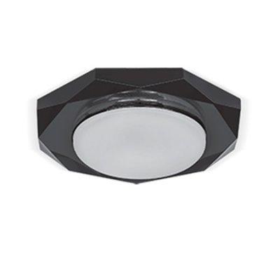 Светильник Gauss Tablet GX208 Восемь гран. Кристалл/Черный, GX53Круглые<br>Встраиваемые светильники – популярное осветительное оборудование, которое можно использовать в качестве основного источника или в дополнение к люстре. Они позволяют создать нужную атмосферу атмосферу и привнести в интерьер уют и комфорт.   Интернет-магазин «Светодом» предлагает стильный встраиваемый светильник Gauss Tablet GX208. Данная модель достаточно универсальна, поэтому подойдет практически под любой интерьер. Перед покупкой не забудьте ознакомиться с техническими параметрами, чтобы узнать тип цоколя, площадь освещения и другие важные характеристики.   Приобрести встраиваемый светильник Gauss Tablet GX208 в нашем онлайн-магазине Вы можете либо с помощью «Корзины», либо по контактным номерам. Мы развозим заказы по Москве, Екатеринбургу и остальным российским городам.<br><br>S освещ. до, м2: 1<br>Тип лампы: LED<br>Тип цоколя: GX53<br>Количество ламп: 1<br>MAX мощность ламп, Вт: 25<br>Диаметр, мм мм: 122<br>Диаметр врезного отверстия, мм: 80<br>Высота, мм: 32<br>Цвет арматуры: черный