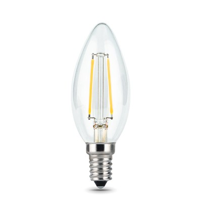 Лампа Gauss LED Filament Candle E14 5W 4100КВ виде свечи<br><br>