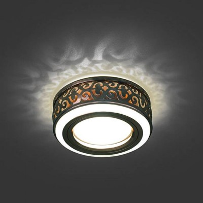 Светильник Gauss Backlight BL093 Кругл. Бронза/Белый, Gu5.3, 3W, LED 3000KМеталлические<br><br><br>Тип лампы: галогенная/LED<br>Тип цоколя: GU5.3<br>MAX мощность ламп, Вт: 50<br>Диаметр, мм мм: 75<br>Диаметр врезного отверстия, мм: 60<br>Высота, мм: 43