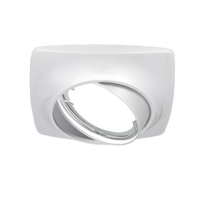 Светильник Gauss Metal Exclusive CA069 Круг. Белый перламутр, Gu5.3