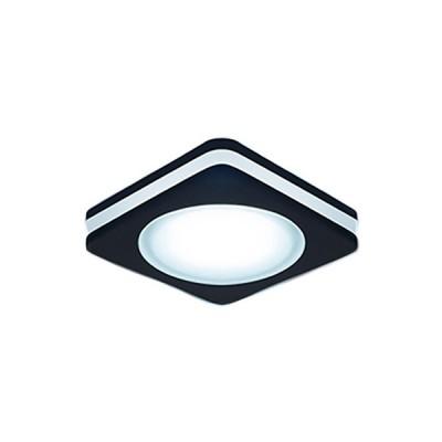 Купить Светильник Gauss Backlight BL109 Квадрат. Черный, 5W, LED 4000K0, Китай
