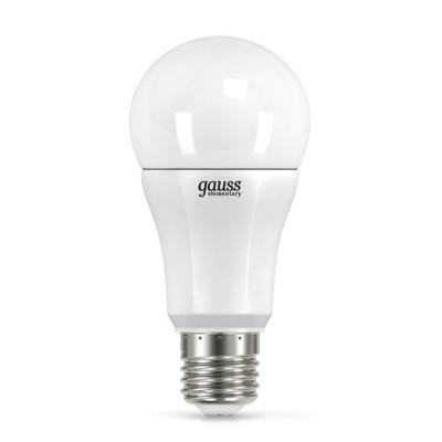 Лампа Gauss LED Elementary A60 12W E27 4100K 2/50 (2 лампы в упаковке)Лампа e27<br><br>