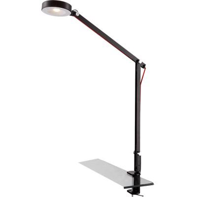Светильник Globo 24125K WiloНа струбцине<br>Настольная лампа – это не просто источник дополнительного освещения, но и оригинальный элемент декора. Его можно установить в спальне, гостиной, кабинете и других комнатах. Интернет-магазин «Светодом» предлагает настольные лампы разных стилей по доступным ценам. Благодаря большому ассортименту Вы обязательно найдете в нашем каталоге именно ту модель, которую искали.   Настольная лампа Globo 24125K – прекрасный вариант для завершения интерьера. Ее можно включить одновременно с люстрой для более яркого освещения или без нее для создания уютной атмосферы, настраивающей на отдых.   Купить настольную лампу Globo 24125K Вы можете с помощью виртуальной «Корзины» или по контактным номерам, указанным на сайте.<br><br>Тип лампы: накаливания / энергосберегающая / светодиодная<br>Тип цоколя: LED<br>Количество ламп: 1<br>MAX мощность ламп, Вт: 6<br>Диаметр, мм мм: 910<br>Высота, мм: 840<br>Поверхность арматуры: матовый<br>Цвет арматуры: черный