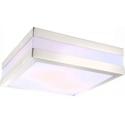 Светильник Globo 32208 CreekКвадратные<br>Настенно-потолочные светильники – это универсальные осветительные варианты, которые подходят для вертикального и горизонтального монтажа. В интернет-магазине «Светодом» Вы можете приобрести подобные модели по выгодной стоимости. В нашем каталоге представлены как бюджетные варианты, так и эксклюзивные изделия от производителей, которые уже давно заслужили доверие дизайнеров и простых покупателей.  Настенно-потолочный светильник Globo 32208 станет прекрасным дополнением к основному освещению. Благодаря качественному исполнению и применению современных технологий при производстве эта модель будет радовать Вас своим привлекательным внешним видом долгое время. Приобрести настенно-потолочный светильник Globo 32208 можно, находясь в любой точке России.<br><br>S освещ. до, м2: 2<br>Тип лампы: накаливания / энергосбережения / LED-светодиодная<br>Тип цоколя: E27<br>Цвет арматуры: серебристый<br>Количество ламп: 2<br>Ширина, мм: 285<br>Длина, мм: 285<br>Расстояние от стены, мм: 85<br>Высота, мм: 85<br>MAX мощность ламп, Вт: 11