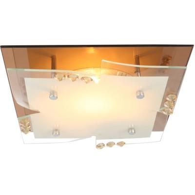 Светильник квадратный Globo 48084 DubiaПотолочные<br>Компания «Светодом» предлагает широкий ассортимент люстр от известных производителей. Представленные в нашем каталоге товары выполнены из современных материалов и обладают отличным качеством. Благодаря широкому ассортименту Вы сможете найти у нас люстру под любой интерьер. Мы предлагаем как классические варианты, так и современные модели, отличающиеся лаконичностью и простотой форм. <br>Стильная люстра Globo 48084 станет украшением любого дома. Эта модель от известного производителя не оставит равнодушным ценителей красивых и оригинальных предметов интерьера. Люстра Globo 48084 обеспечит равномерное распределение света по всей комнате. При выборе обратите внимание на характеристики, позволяющие приобрести наиболее подходящую модель. <br>Купить понравившуюся люстру по доступной цене Вы можете в интернет-магазине «Светодом».<br><br>Установка на натяжной потолок: Ограничено<br>S освещ. до, м2: 1<br>Крепление: Планка<br>Тип лампы: накаливания / энергосберегающая / светодиодная<br>Тип цоколя: E27 ILLU<br>Количество ламп: 1<br>MAX мощность ламп, Вт: 60<br>Диаметр, мм мм: 240<br>Высота, мм: 100<br>Поверхность арматуры: глянцевый, зеркальный<br>Цвет арматуры: бронзовый