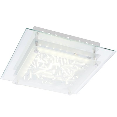 Светильник Globo 49303-12 AlgarveПотолочные<br><br><br>Установка на натяжной потолок: Да<br>S освещ. до, м2: 1<br>Крепление: Планка<br>Тип товара: Светильник настенно-потолочный<br>Скидка, %: 21<br>Цветовая t, К: 4000<br>Тип лампы: LED<br>Тип цоколя: LED<br>Количество ламп: 1<br>MAX мощность ламп, Вт: 12<br>Диаметр, мм мм: 280<br>Высота, мм: 60<br>Поверхность арматуры: глянцевый<br>Цвет арматуры: серебристый