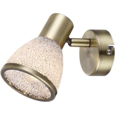 Светильник Globo 56046-1 ElsaОдиночные<br>Светильники-споты – это оригинальные изделия с современным дизайном. Они позволяют не ограничивать свою фантазию при выборе освещения для интерьера. Такие модели обеспечивают достаточно качественный свет. Благодаря компактным размерам Вы можете использовать несколько спотов для одного помещения.  Интернет-магазин «Светодом» предлагает необычный светильник-спот Globo 56046-1 по привлекательной цене. Эта модель станет отличным дополнением к люстре, выполненной в том же стиле. Перед оформлением заказа изучите характеристики изделия.  Купить светильник-спот Globo 56046-1 в нашем онлайн-магазине Вы можете либо с помощью формы на сайте, либо по указанным выше телефонам. Обратите внимание, что мы предлагаем доставку не только по Москве и Екатеринбургу, но и всем остальным российским городам.<br><br>Тип товара: Светильник поворотный спот<br>Скидка, %: 15<br>Цветовая t, К: 3000<br>Тип лампы: накаливания / энергосберегающая / светодиодная<br>Тип цоколя: E14 LED<br>Количество ламп: 1<br>Ширина, мм: 120<br>MAX мощность ламп, Вт: 4<br>Длина, мм: 85<br>Высота, мм: 125<br>Поверхность арматуры: матовый<br>Цвет арматуры: бронзовый
