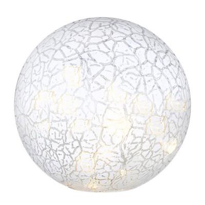 Светильник настольный LED Globo 28176 SaturnusВ виде шара<br>Настольная лампа – это не просто источник дополнительного освещения, но и оригинальный элемент декора. Его можно установить в спальне, гостиной, кабинете и других комнатах. Интернет-магазин «Светодом» предлагает настольные лампы разных стилей по доступным ценам. Благодаря большому ассортименту Вы обязательно найдете в нашем каталоге именно ту модель, которую искали. <br> Настольная лампа Globo 28176 – прекрасный вариант для завершения интерьера. Ее можно включить одновременно с люстрой для более яркого освещения или без нее для создания уютной атмосферы, настраивающей на отдых. <br> Купить настольную лампу Globo 28176 Вы можете с помощью виртуальной «Корзины» или по контактным номерам, указанным на сайте.<br><br>S освещ. до, м2: 3<br>Тип лампы: LED - светодиодная<br>Тип цоколя: LED<br>Количество ламп: 15<br>Ширина, мм: 200<br>MAX мощность ламп, Вт: 0,06<br>Диаметр, мм мм: 200<br>Высота, мм: 205<br>Оттенок (цвет): белый