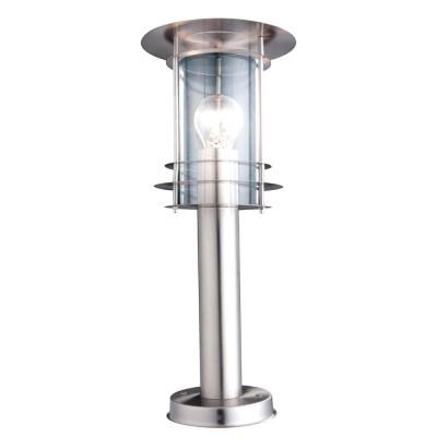 Светильник Globo 3153 MiamiФонари на столб<br>Обеспечение качественного уличного освещения – важная задача для владельцев коттеджей. Компания «Светодом» предлагает современные светильники, которые порадуют Вас отличным исполнением. В нашем каталоге представлена продукция известных производителей, пользующихся популярностью благодаря высокому качеству выпускаемых товаров.   Уличный светильник Globo 3153 не просто обеспечит качественное освещение, но и станет украшением Вашего участка. Модель выполнена из современных материалов и имеет влагозащитный корпус, благодаря которому ей не страшны осадки.   Купить уличный светильник Globo 3153, представленный в нашем каталоге, можно с помощью онлайн-формы для заказа. Чтобы задать имеющиеся вопросы, звоните нам по указанным телефонам.<br><br>Тип лампы: накал-я - энергосбер-я<br>Тип цоколя: E27<br>Цвет арматуры: серебристый<br>Количество ламп: 1<br>Диаметр, мм мм: 190<br>Высота, мм: 450<br>MAX мощность ламп, Вт: 60