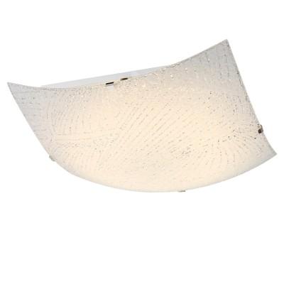 Светильник Globo 40484Квадратные<br>Настенно-потолочные светильники – это универсальные осветительные варианты, которые подходят для вертикального и горизонтального монтажа. В интернет-магазине «Светодом» Вы можете приобрести подобные модели по выгодной стоимости. В нашем каталоге представлены как бюджетные варианты, так и эксклюзивные изделия от производителей, которые уже давно заслужили доверие дизайнеров и простых покупателей.  Настенно-потолочный светильник Globo 40484 станет прекрасным дополнением к основному освещению. Благодаря качественному исполнению и применению современных технологий при производстве эта модель будет радовать Вас своим привлекательным внешним видом долгое время. Приобрести настенно-потолочный светильник Globo 40484 можно, находясь в любой точке России.<br><br>S освещ. до, м2: 5<br>Тип лампы: LED<br>Тип цоколя: LED<br>Цвет арматуры: серебристый<br>Количество ламп: 1<br>Диаметр, мм мм: 300<br>Высота, мм: 85<br>MAX мощность ламп, Вт: 12