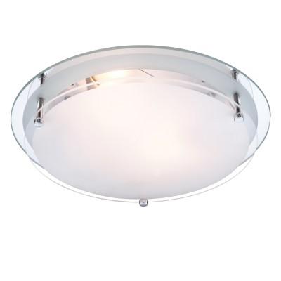 Светильник круглый Globo 48167-2 IndiКруглые<br>Настенно-потолочные светильники – это универсальные осветительные варианты, которые подходят для вертикального и горизонтального монтажа. В интернет-магазине «Светодом» Вы можете приобрести подобные модели по выгодной стоимости. В нашем каталоге представлены как бюджетные варианты, так и эксклюзивные изделия от производителей, которые уже давно заслужили доверие дизайнеров и простых покупателей.  Настенно-потолочный светильник Globo 48167-2 станет прекрасным дополнением к основному освещению. Благодаря качественному исполнению и применению современных технологий при производстве эта модель будет радовать Вас своим привлекательным внешним видом долгое время. Приобрести настенно-потолочный светильник Globo 48167-2 можно, находясь в любой точке России.<br><br>S освещ. до, м2: 6<br>Тип лампы: накаливания / энергосбережения / LED-светодиодная<br>Тип цоколя: E27 ILLU<br>Количество ламп: 2<br>MAX мощность ламп, Вт: 60<br>Диаметр, мм мм: 315<br>Высота, мм: 85<br>Цвет арматуры: серебристый