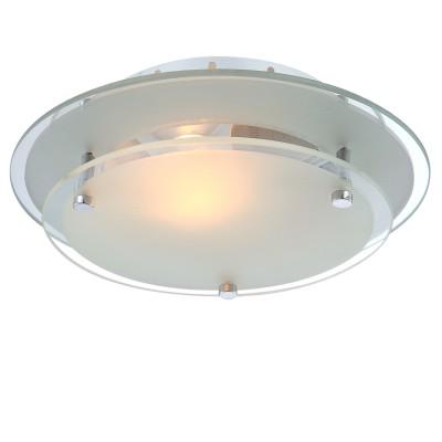 Светильник тарелка Globo 48167 IndiКруглые<br>Настенно потолочный светильник Globo (Глобо) 48167 подходит как для установки в вертикальном положении - на стены, так и для установки в горизонтальном - на потолок. Для установки настенно потолочных светильников на натяжной потолок необходимо использовать светодиодные лампы LED, которые экономнее ламп Ильича (накаливания) в 10 раз, выделяют мало тепла и не дадут расплавиться Вашему потолку.<br><br>S освещ. до, м2: 4<br>Тип товара: Светильник потолочный<br>Скидка, %: 55<br>Тип лампы: накаливания / энергосбережения / LED-светодиодная<br>Тип цоколя: E27<br>Количество ламп: 1<br>MAX мощность ламп, Вт: 60<br>Диаметр, мм мм: 230<br>Высота, мм: 75<br>Цвет арматуры: серебристый