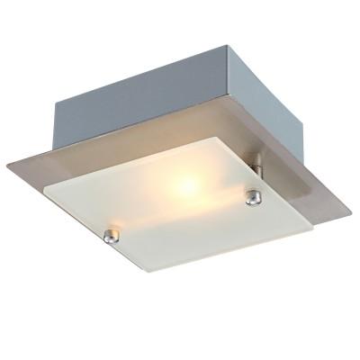 Светильник потолочный Globo 4920 Grenobleквадратные светильники<br>Настенно потолочный светильник Globo (Глобо) 4920 подходит как для установки в вертикальном положении - на стены, так и для установки в горизонтальном - на потолок. Для установки настенно потолочных светильников на натяжной потолок необходимо использовать светодиодные лампы LED, которые экономнее ламп Ильича (накаливания) в 10 раз, выделяют мало тепла и не дадут расплавиться Вашему потолку.<br><br>S освещ. до, м2: 2<br>Тип лампы: галогенная / LED-светодиодная<br>Тип цоколя: G9<br>Цвет арматуры: серый<br>Количество ламп: 1<br>Ширина, мм: 130<br>Длина, мм: 130<br>Высота, мм: 50<br>MAX мощность ламп, Вт: 40