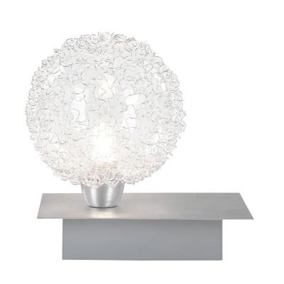 Настольная лампа Globo 5662T New DesignСовременные<br>Настольная лампа – это не просто источник дополнительного освещения, но и оригинальный элемент декора. Его можно установить в спальне, гостиной, кабинете и других комнатах. Интернет-магазин «Светодом» предлагает настольные лампы разных стилей по доступным ценам. Благодаря большому ассортименту Вы обязательно найдете в нашем каталоге именно ту модель, которую искали. <br> Настольная лампа Globo 5662T – прекрасный вариант для завершения интерьера. Ее можно включить одновременно с люстрой для более яркого освещения или без нее для создания уютной атмосферы, настраивающей на отдых. <br> Купить настольную лампу Globo 5662T Вы можете с помощью виртуальной «Корзины» или по контактным номерам, указанным на сайте.<br><br>S освещ. до, м2: 2<br>Тип лампы: галогенная<br>Тип цоколя: G9<br>Количество ламп: 1<br>Ширина, мм: 115<br>MAX мощность ламп, Вт: 40<br>Диаметр, мм мм: 100<br>Длина, мм: 150<br>Высота, мм: 145<br>Цвет арматуры: серебристый
