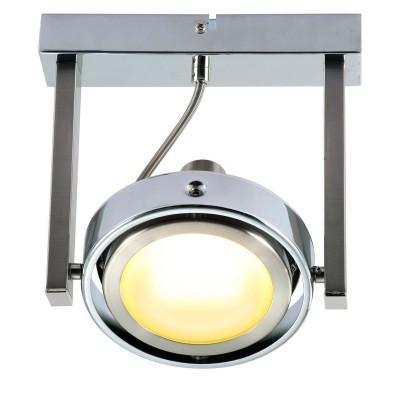 Светильник потолочный Globo 56946-1 BaroniОдиночные<br>Светильники-споты – это оригинальные изделия с современным дизайном. Они позволяют не ограничивать свою фантазию при выборе освещения для интерьера. Такие модели обеспечивают достаточно качественный свет. Благодаря компактным размерам Вы можете использовать несколько спотов для одного помещения.  Интернет-магазин «Светодом» предлагает необычный светильник-спот Globo 56946-1 по привлекательной цене. Эта модель станет отличным дополнением к люстре, выполненной в том же стиле. Перед оформлением заказа изучите характеристики изделия.  Купить светильник-спот Globo 56946-1 в нашем онлайн-магазине Вы можете либо с помощью формы на сайте, либо по указанным выше телефонам. Обратите внимание, что мы предлагаем доставку не только по Москве и Екатеринбургу, но и всем остальным российским городам.<br><br>S освещ. до, м2: 3<br>Тип товара: Светильник поворотный спот<br>Скидка, %: 15<br>Тип лампы: LED - светодиодная<br>Тип цоколя: LED<br>Количество ламп: 1<br>Ширина, мм: 135<br>MAX мощность ламп, Вт: 5<br>Диаметр, мм мм: 135<br>Длина, мм: 195<br>Расстояние от стены, мм: 175<br>Высота, мм: 175<br>Оттенок (цвет): белый<br>Цвет арматуры: серый