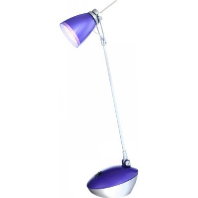 Светильник настольный Globo 24208 ParaОфисные<br>Настольная лампа – это не просто источник дополнительного освещения, но и оригинальный элемент декора. Его можно установить в спальне, гостиной, кабинете и других комнатах. Интернет-магазин «Светодом» предлагает настольные лампы разных стилей по доступным ценам. Благодаря большому ассортименту Вы обязательно найдете в нашем каталоге именно ту модель, которую искали.   Настольная лампа Globo 24208 – прекрасный вариант для завершения интерьера. Ее можно включить одновременно с люстрой для более яркого освещения или без нее для создания уютной атмосферы, настраивающей на отдых.   Купить настольную лампу Globo 24208 Вы можете с помощью виртуальной «Корзины» или по контактным номерам, указанным на сайте.<br><br>S освещ. до, м2: 2<br>Тип лампы: галогенная<br>Тип цоколя: G9<br>Количество ламп: 1<br>Ширина, мм: 160<br>MAX мощность ламп, Вт: 33<br>Диаметр, мм мм: 160<br>Длина, мм: 175<br>Высота, мм: 510<br>Цвет арматуры: фиолетовый