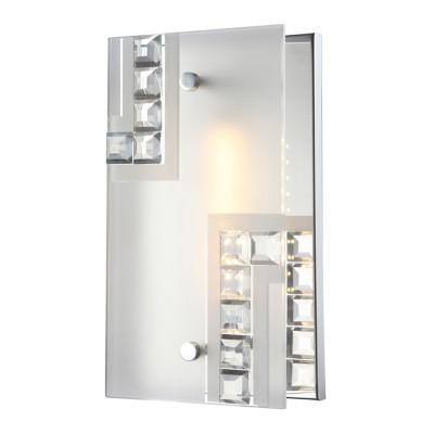 Светильник Globo 41714-4 HaziraПрямоугольные<br>Настенно-потолочные светильники – это универсальные осветительные варианты, которые подходят для вертикального и горизонтального монтажа. В интернет-магазине «Светодом» Вы можете приобрести подобные модели по выгодной стоимости. В нашем каталоге представлены как бюджетные варианты, так и эксклюзивные изделия от производителей, которые уже давно заслужили доверие дизайнеров и простых покупателей. <br>Настенно-потолочный светильник Globo 41714-4 Hazira станет прекрасным дополнением к основному освещению. Благодаря качественному исполнению и применению современных технологий при производстве эта модель будет радовать Вас своим привлекательным внешним видом долгое время. <br>Приобрести настенно-потолочный светильник Globo 41714-4 Hazira можно, находясь в любой точке России.<br><br>S освещ. до, м2: 2<br>Тип лампы: галогенная / LED-светодиодная<br>Тип цоколя: LED<br>Цвет арматуры: серебристый<br>Количество ламп: 1<br>Ширина, мм: 120<br>Длина, мм: 220<br>Высота, мм: 90<br>MAX мощность ламп, Вт: 4