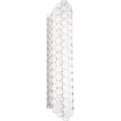 Светильник бра Globo 46630-3W AzaleaХрустальные<br><br><br>S освещ. до, м2: 13<br>Тип лампы: галогенная / LED-светодиодная<br>Тип цоколя: G9<br>Количество ламп: 3<br>Ширина, мм: 75<br>MAX мощность ламп, Вт: 33<br>Диаметр, мм мм: 345<br>Длина, мм: 345<br>Расстояние от стены, мм: 75<br>Высота, мм: 100<br>Цвет арматуры: серебристый