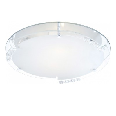 Светильник Globo 48073-2 ArmenaКруглые<br>Настенно-потолочные светильники – это универсальные осветительные варианты, которые подходят для вертикального и горизонтального монтажа. В интернет-магазине «Светодом» Вы можете приобрести подобные модели по выгодной стоимости. В нашем каталоге представлены как бюджетные варианты, так и эксклюзивные изделия от производителей, которые уже давно заслужили доверие дизайнеров и простых покупателей. <br>Настенно-потолочный светильник Globo 48073-2 Armena станет прекрасным дополнением к основному освещению. Благодаря качественному исполнению и применению современных технологий при производстве эта модель будет радовать Вас своим привлекательным внешним видом долгое время. <br>Приобрести настенно-потолочный светильник Globo 48073-2 Armena можно, находясь в любой точке России.<br><br>S освещ. до, м2: 8<br>Тип лампы: накаливания / энергосбережения / LED-светодиодная<br>Тип цоколя: E27<br>Цвет арматуры: серебристый<br>Количество ламп: 2<br>Диаметр, мм мм: 320<br>Расстояние от стены, мм: 100<br>Оттенок (цвет): белый<br>MAX мощность ламп, Вт: 60