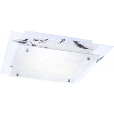 Светильник Globo 48078-2 CharmantКвадратные<br>Настенно-потолочные светильники – это универсальные осветительные варианты, которые подходят для вертикального и горизонтального монтажа. В интернет-магазине «Светодом» Вы можете приобрести подобные модели по выгодной стоимости. В нашем каталоге представлены как бюджетные варианты, так и эксклюзивные изделия от производителей, которые уже давно заслужили доверие дизайнеров и простых покупателей.  Настенно-потолочный светильник Globo 48078-2 Charmant станет прекрасным дополнением к основному освещению. Благодаря качественному исполнению и применению современных технологий при производстве эта модель будет радовать Вас своим привлекательным внешним видом долгое время. Приобрести настенно-потолочный светильник Globo 48078-2 Charmant можно, находясь в любой точке России.<br><br>S освещ. до, м2: 8<br>Тип лампы: накаливания / энергосбережения / LED-светодиодная<br>Тип цоколя: E27<br>Количество ламп: 2<br>Ширина, мм: 300<br>MAX мощность ламп, Вт: 40<br>Длина, мм: 300<br>Расстояние от стены, мм: 95<br>Высота, мм: 95<br>Оттенок (цвет): белый<br>Цвет арматуры: серебристый