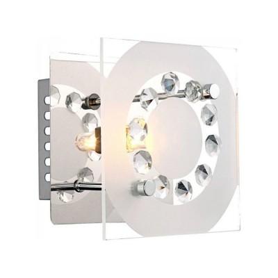Светильник бра Globo 48690 Dianneквадратные светильники<br>Настенно-потолочные светильники – это универсальные осветительные варианты, которые подходят для вертикального и горизонтального монтажа. В интернет-магазине «Светодом» Вы можете приобрести подобные модели по выгодной стоимости. В нашем каталоге представлены как бюджетные варианты, так и эксклюзивные изделия от производителей, которые уже давно заслужили доверие дизайнеров и простых покупателей. <br>Настенно-потолочный светильник Globo 48690 станет прекрасным дополнением к основному освещению. Благодаря качественному исполнению и применению современных технологий при производстве эта модель будет радовать Вас своим привлекательным внешним видом долгое время. <br>Приобрести настенно-потолочный светильник Globo 48690 можно, находясь в любой точке России.<br><br>S освещ. до, м2: 2<br>Тип лампы: галогенная / LED-светодиодная<br>Тип цоколя: G9<br>Цвет арматуры: серебристый<br>Количество ламп: 1<br>Ширина, мм: 120<br>Длина, мм: 120<br>Высота, мм: 90<br>MAX мощность ламп, Вт: 33