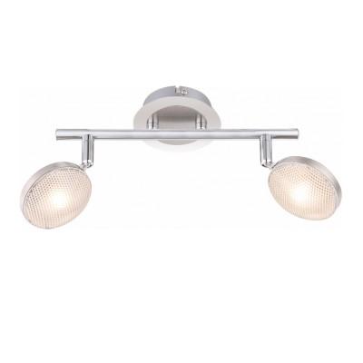 Светильник Globo 56184-2 TinaДвойные<br>Светильники-споты – это оригинальные изделия с современным дизайном. Они позволяют не ограничивать свою фантазию при выборе освещения для интерьера. Такие модели обеспечивают достаточно качественный свет. Благодаря компактным размерам Вы можете использовать несколько спотов для одного помещения. <br>Интернет-магазин «Светодом» предлагает необычный светильник-спот Globo 56184-2 по привлекательной цене. Эта модель станет отличным дополнением к люстре, выполненной в том же стиле. Перед оформлением заказа изучите характеристики изделия. <br>Купить светильник-спот Globo 56184-2 в нашем онлайн-магазине Вы можете либо с помощью формы на сайте, либо по указанным выше телефонам. Обратите внимание, что у нас склады не только в Москве и Екатеринбурге, но и других городах России.<br><br>S освещ. до, м2: 4<br>Тип лампы: накаливания / энергосберегающая / светодиодная<br>Тип цоколя: LED<br>Цвет арматуры: серебристый<br>Количество ламп: 2<br>Диаметр, мм мм: 165<br>Высота, мм: 275<br>Поверхность арматуры: матовый, глянцевый<br>MAX мощность ламп, Вт: 5<br>Общая мощность, Вт: 10