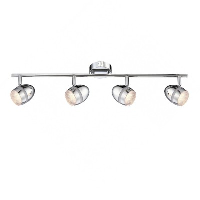 Светильник на штанге Globo 56206-4 ManjolaС 4 лампами<br>Светильники-споты – это оригинальные изделия с современным дизайном. Они позволяют не ограничивать свою фантазию при выборе освещения для интерьера. Такие модели обеспечивают достаточно качественный свет. Благодаря компактным размерам Вы можете использовать несколько спотов для одного помещения. <br>Интернет-магазин «Светодом» предлагает необычный светильник-спот Globo 56206-4 по привлекательной цене. Эта модель станет отличным дополнением к люстре, выполненной в том же стиле. Перед оформлением заказа изучите характеристики изделия. <br>Купить светильник-спот Globo 56206-4 в нашем онлайн-магазине Вы можете либо с помощью формы на сайте, либо по указанным выше телефонам. Обратите внимание, что у нас склады не только в Москве и Екатеринбурге, но и других городах России.<br><br>S освещ. до, м2: 5<br>Тип лампы: галогенная / LED-светодиодная<br>Тип цоколя: LED<br>Цвет арматуры: серебристый<br>Количество ламп: 4<br>Ширина, мм: 85<br>Длина, мм: 660<br>Высота, мм: 162<br>MAX мощность ламп, Вт: 3