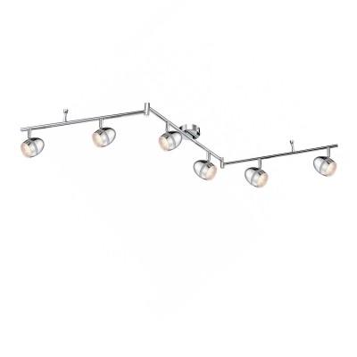 Светильник на штанге Globo 56206-6 ManjolaСветильники акцентного освещения<br>Светильники-споты – это оригинальные изделия с современным дизайном. Они позволяют не ограничивать свою фантазию при выборе освещения для интерьера. Такие модели обеспечивают достаточно качественный свет. Благодаря компактным размерам Вы можете использовать несколько спотов для одного помещения. <br>Интернет-магазин «Светодом» предлагает необычный светильник-спот Globo 56206-6 по привлекательной цене. Эта модель станет отличным дополнением к люстре, выполненной в том же стиле. Перед оформлением заказа изучите характеристики изделия. <br>Купить светильник-спот Globo 56206-6 в нашем онлайн-магазине Вы можете либо с помощью формы на сайте, либо по указанным выше телефонам. Обратите внимание, что у нас склады не только в Москве и Екатеринбурге, но и других городах России.<br><br>S освещ. до, м2: 1<br>Тип лампы: галогенная / LED-светодиодная<br>Тип цоколя: LED<br>Цвет арматуры: серебристый<br>Количество ламп: 6<br>Ширина, мм: 85<br>Длина, мм: 1500<br>Высота, мм: 180<br>MAX мощность ламп, Вт: 3