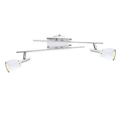 Светильник потолочный Globo 57603-2 Noruдвойные светильники споты<br>Светильники-споты – это оригинальные изделия с современным дизайном. Они позволяют не ограничивать свою фантазию при выборе освещения для интерьера. Такие модели обеспечивают достаточно качественный свет. Благодаря компактным размерам Вы можете использовать несколько спотов для одного помещения. <br>Интернет-магазин «Светодом» предлагает необычный светильник-спот Globo 57603-2 по привлекательной цене. Эта модель станет отличным дополнением к люстре, выполненной в том же стиле. Перед оформлением заказа изучите характеристики изделия. <br>Купить светильник-спот Globo 57603-2 в нашем онлайн-магазине Вы можете либо с помощью формы на сайте, либо по указанным выше телефонам. Обратите внимание, что у нас склады не только в Москве и Екатеринбурге, но и других городах России.<br><br>S освещ. до, м2: 3<br>Тип лампы: галогенная / LED-светодиодная<br>Тип цоколя: GU10<br>Цвет арматуры: серебристый<br>Количество ламп: 2<br>Ширина, мм: 120<br>Длина, мм: 495<br>Высота, мм: 130<br>MAX мощность ламп, Вт: 3,5