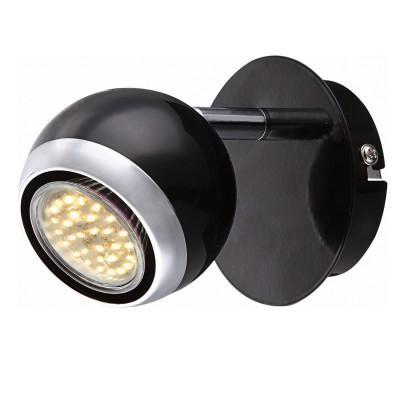 Светильник Globo 57884-1 OmanОдиночные<br>Светильники-споты – это оригинальные изделия с современным дизайном. Они позволяют не ограничивать свою фантазию при выборе освещения для интерьера. Такие модели обеспечивают достаточно качественный свет. Благодаря компактным размерам Вы можете использовать несколько спотов для одного помещения. <br>Интернет-магазин «Светодом» предлагает необычный светильник-спот Globo 57884-1 по привлекательной цене. Эта модель станет отличным дополнением к люстре, выполненной в том же стиле. Перед оформлением заказа изучите характеристики изделия. <br>Купить светильник-спот Globo 57884-1 в нашем онлайн-магазине Вы можете либо с помощью формы на сайте, либо по указанным выше телефонам. Обратите внимание, что у нас склады не только в Москве и Екатеринбурге, но и других городах России.<br><br>S освещ. до, м2: 2<br>Цветовая t, К: 3000<br>Тип цоколя: GU10 LED<br>Цвет арматуры: серебристый<br>Количество ламп: 1<br>Ширина, мм: 130<br>Длина, мм: 100<br>Высота, мм: 115<br>Поверхность арматуры: матовый, глянцевый<br>MAX мощность ламп, Вт: 3