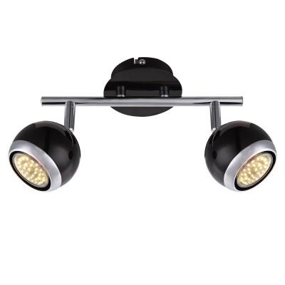 Светильник Globo 57884-2 Omanдвойные светильники споты<br>Светильники-споты – это оригинальные изделия с современным дизайном. Они позволяют не ограничивать свою фантазию при выборе освещения для интерьера. Такие модели обеспечивают достаточно качественный свет. Благодаря компактным размерам Вы можете использовать несколько спотов для одного помещения. <br>Интернет-магазин «Светодом» предлагает необычный светильник-спот Globo 57884-2 по привлекательной цене. Эта модель станет отличным дополнением к люстре, выполненной в том же стиле. Перед оформлением заказа изучите характеристики изделия. <br>Купить светильник-спот Globo 57884-2 в нашем онлайн-магазине Вы можете либо с помощью формы на сайте, либо по указанным выше телефонам. Обратите внимание, что у нас склады не только в Москве и Екатеринбурге, но и других городах России.<br><br>S освещ. до, м2: 3<br>Цветовая t, К: 3000<br>Тип цоколя: GU10<br>Цвет арматуры: серебристый<br>Количество ламп: 2<br>Диаметр, мм мм: 250<br>Высота, мм: 150<br>Поверхность арматуры: матовый, глянцевый<br>MAX мощность ламп, Вт: 3<br>Общая мощность, Вт: 6