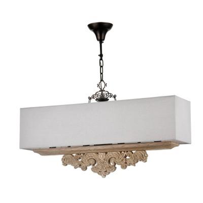 Люстра Maytoni H034-PL-04-R CipressoДлинные 4+<br><br><br>Тип лампы: Накаливания / энергосбережения / светодиодная<br>Тип цоколя: E14<br>Цвет арматуры: Дуб антик<br>Количество ламп: 4<br>Ширина, мм: 745<br>Высота полная, мм: 420<br>MAX мощность ламп, Вт: 40