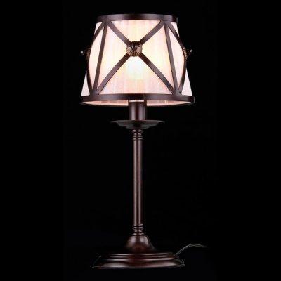 Светильник Maytoni H102-22-R House 2Современные<br>Настольная лампа – это не просто источник дополнительного освещения, но и оригинальный элемент декора. Его можно установить в спальне, гостиной, кабинете и других комнатах. Интернет-магазин «Светодом» предлагает настольные лампы разных стилей по доступным ценам. Благодаря большому ассортименту Вы обязательно найдете в нашем каталоге именно ту модель, которую искали.   Настольная лампа Maytoni H102-22-R – прекрасный вариант для завершения интерьера. Ее можно включить одновременно с люстрой для более яркого освещения или без нее для создания уютной атмосферы, настраивающей на отдых.   Купить настольную лампу Maytoni H102-22-R Вы можете с помощью виртуальной «Корзины» или по контактным номерам, указанным на сайте.<br><br>S освещ. до, м2: 2<br>Тип лампы: накаливания / энергосбережения / LED-светодиодная<br>Тип цоколя: E14<br>Количество ламп: 1<br>MAX мощность ламп, Вт: 40<br>Диаметр, мм мм: 180<br>Высота, мм: 400<br>Цвет арматуры: коричневый